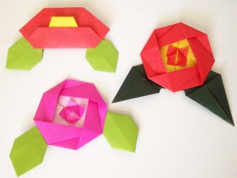 Camelia Origami